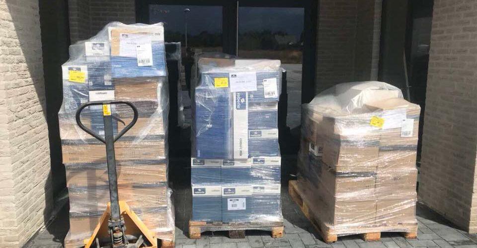 Eerste levering van Roberlo is aangekomen.